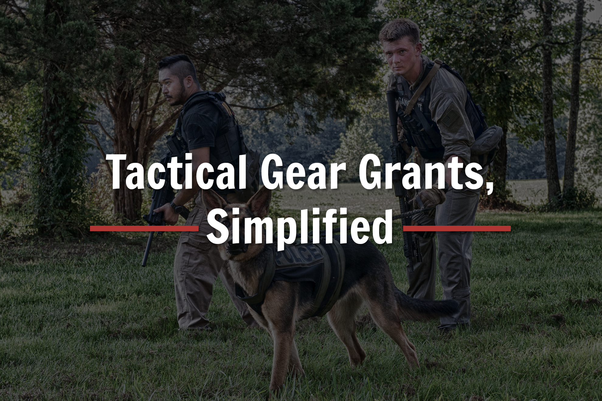 Tactical Gear Grants Header